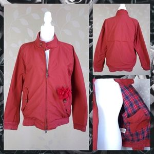 BARACUTA G9 Harrington Jacket England Red Orange
